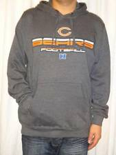 Chicago Bears NFL Team Apparel Mens Hooded Pullover Fleece Sweatshirt Large