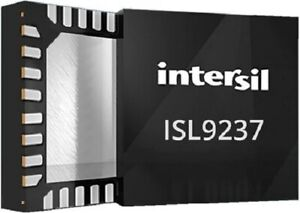Intersil BATTERY CHARGE CONTROLLER IC 3.2-23.4V 32-Pin Lithium-Ion,Surface Mount
