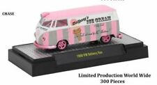 M2 Machines Auto Thentic 2017 Toy Fair 1:64 1960 VW Delivery Van Ice Cream CHASE
