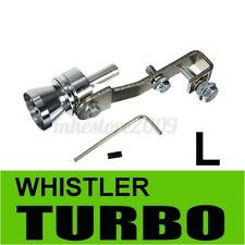 L Turbo Sound Whistle Muffler Exhaust Pipe Blow off Vale BOV Simulator  + #