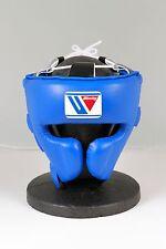 Winning FG-2900 Headgear Face guard Type  Size:Large, color: BLUE