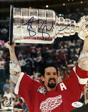 Brendan Shanahan Signed 8x10 Photo Detroit Red Wings Stanley Cup JSA #H41996