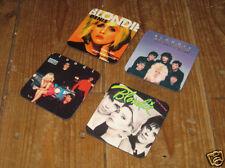 Blondie Debbie Harry Album Cover Drinks Coaster Set