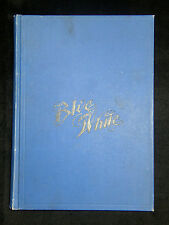 """SUMMER 1900 LOS ANGELES HIGH SCHOOL YEARBOOK """"BLUE AND WHITE"""" LA CA"""