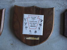 Vintage Eastern Sports and Outdoor Show Big Game Trophy Plaque