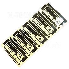 Nuevo De Calidad Superior 5 X Negro pegatina adhesiva Para Ipad 2 Pantalla Táctil Digitalizador