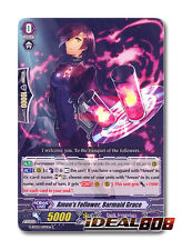 Cardfight Vanguard  x 4 Amon's Follower, Barmaid Grace - G-BT03/097EN - C Mint