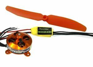 Torcster Antriebsset RC-factory XS Brushless Flugzeug NEU&OVP