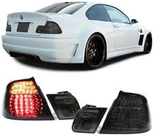 Black smoked finish LED tail lights rear lights for E46 Cabrio convertible 99-07