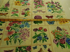 Royal Botanical Patch Cotton Fabric by M'Liss Last Piece