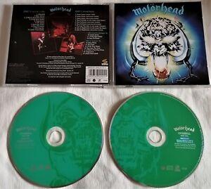 Motörhead Overkill 2-CD Sinner Graveyard Great White Slaughter Steel Panther