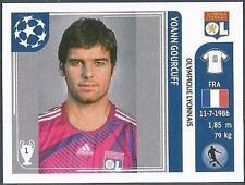 PANINI UEFA CHAMPIONS LEAGUE 2011-12- #237-LYON-YOANN GOURCUFF
