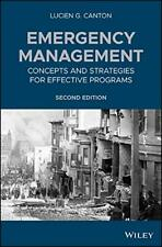 Emergency Management: Concepts and Strategies for Effective Programs, Ca HB+=