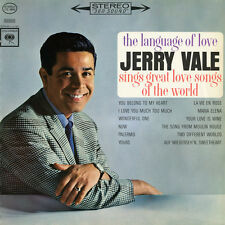 Jerry Vale - The Language of Love [New CD] Manufactured On Demand