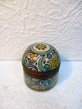 Petit pot avec couvercle oriental