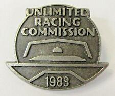 1983 U.R.C. SEASON PASS brooch pin PEWTER pinback Hydroplane Boat b1