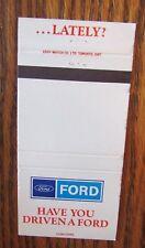 FORD MOTOR CAR COMPANY: OAKVILLE, ONTARIO -L10