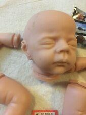 "Sad COA pension Wolke By KAROLA WEIGERICH 18"" Vinyl Reborn Baby Doll Kit #R570"