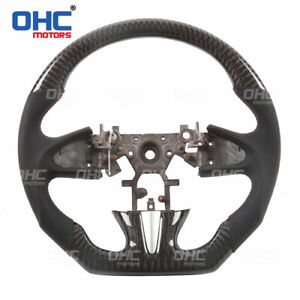 100% Real Carbon Fiber For Infiniti Q50 Steering Wheel
