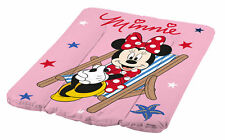 Baby Wickelauflage Disney Minni Maus rosa 70 x 50 Wickelunterlage Wickeln