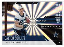 9f5af89fb Dalton Schultz 2018 Panini Unparalleled Shine Parallel RC  282 Dallas  Cowboys