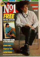 Robert Smith of The Cure on Magazine Cover 14 April 1984   Shakin Stevens   Nena