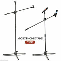 MIC STAND BOOM MICROPHONE STAGE STAND FOLDABLE TRIPOD