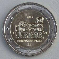 2 euros Alemania J 2017 Rheinland-Pfalz/porta Nigra unz.