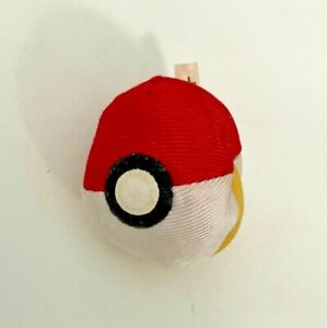 "Official Tomy - Pokemon Pikachu / Pokeball Reversible 3"" Soft Plush Toy"
