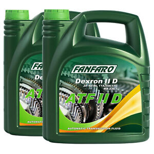 8 (2x4) Liter FANFARO ATF IID