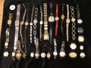 Konvolut 33 Uhren Mechanisch Dugena, Justex, Ruhla, Stowa, Mirexal, Lesart etc.