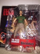 cinema of Fear the hitchhiker signed by Ed Neal ! Texas chainsaw massacre neca