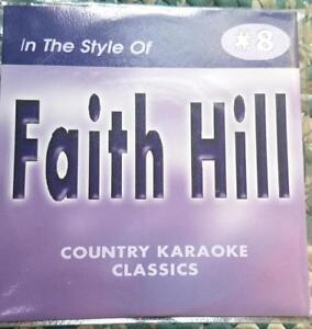 FAITH HILL CDG KARAOKE COUNTRY CLASSICS CKC #8 CD+G IF MY HEART HAD WINGS