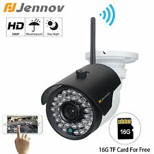 1080P Wireless HD 2MP Outdoor Network IP Camera 16G TF Card Home Securty Night