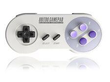 8bitdo SNES30 Bluetooth Controller Gamepad for IOS, Android, Windows, MacOS