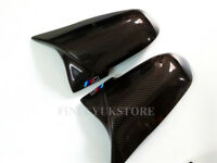 for BMW 3 series f30 carbon fiber side wing mirror cover caps replacement M mark