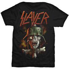 Slayer Men's Soldier Cross V2 Short Sleeve T-shirt Black Large