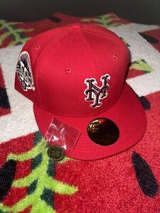 7 1/2 Hat Club Exclusive Sweethearts Mets Pink UV Brim Bottom