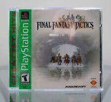 Final Fantasy Tactics (Sony PlayStation 1, 2001) Tested