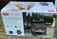 KETER 85 LITRE (90 US Quart) Patio Cooler and Beverage cart / Brand New
