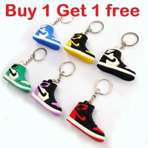 3D Jordan Basketball Keyring Keychain Shoe Various New design Buy 1 Get 1 Free