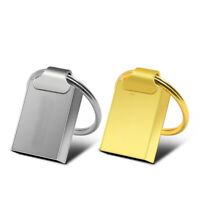 2TB 256GB Mini Metal Ring USB 2.0 Flash Drive Memory Stick Thumb Pen U Disk PC
