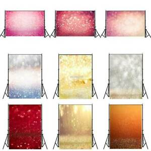 Glitter Halo Photography Backdrops Wall Floor Photo Background Props 3x5ft 5x7ft