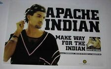 APACHE INDIAN Make Way For The Indian 1995 pro POSTER Steven Kapur