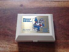 Rare LCD Game cassé Orlitronic Miner 2049er Double Ecran de 1983 Tiger HS