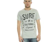 Magliette da uomo grigie grafici JACK & JONES