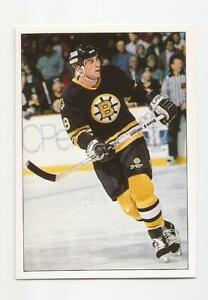 1990-91 Panini Sticker #327 CAM NEELY  Boston Bruins