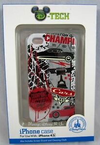 Disney Parks Dtech Cars Land Doc Hudson iPhone 4/4S Clip Case Screen Guard NEW