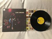 1970 Cream Live Cream LP Album Vinyl Atco Records SD 33-328 EX/VG+