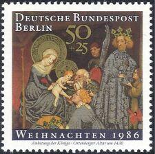 Germania (B) 1986 Natale/Saluti/Natività/ARTE/PITTURA/Kings/MAGI 1 V g10124